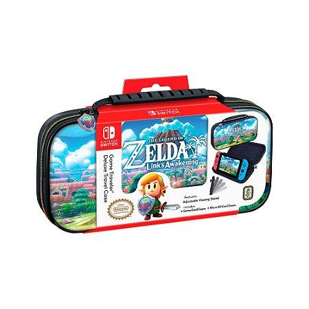 Game Traveler Deluxe Case para Nintendo Switch - The Legend of Zelda: Link's Awakening