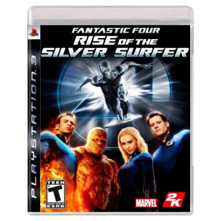 Fantastic Four: Rise of the Silver Surfer (Usado) - PS3