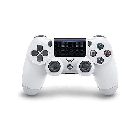Controle Dualshock 4 - Branco Glacial (Usado) - PS4