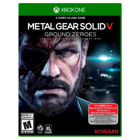 Metal Gear Solid V: Ground Zeroes (Usado) - Xbox One