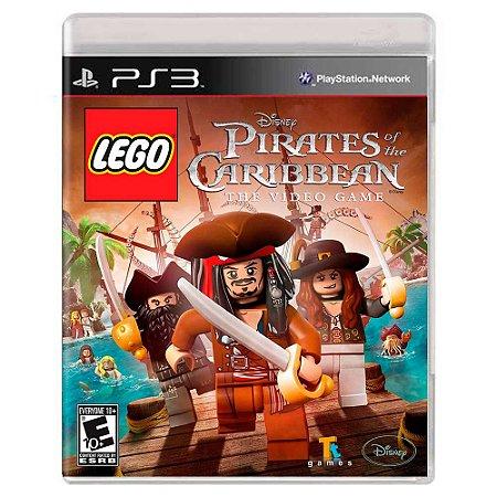 Lego Piratas do Caribe (Usado) - PS3