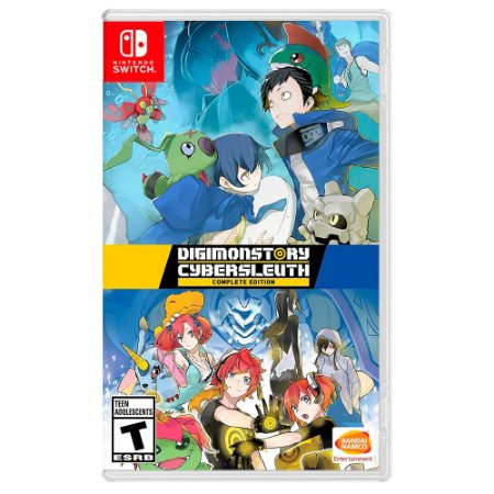 Digimon Story Cyber Sleuth: Complete Edition (Usado) - Switch