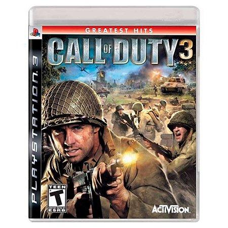 Call of Duty 3 (Usado) - PS3