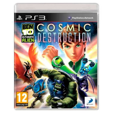 Ben 10 Ultimate Alien: Cosmic Destruction (Usado) - PS3