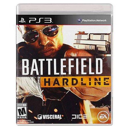 Battlefield Hardline (Usado) - PS3