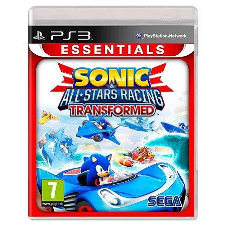 Sonic & Sega All-Stars Racing Transformed (Usado) - PS3