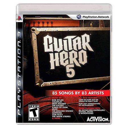 Guitar Hero 5 (Usado) - PS3