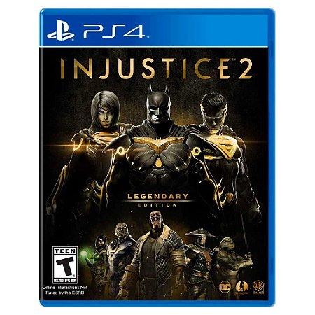 Injustice 2: Legendary Edition (Usado) - PS4