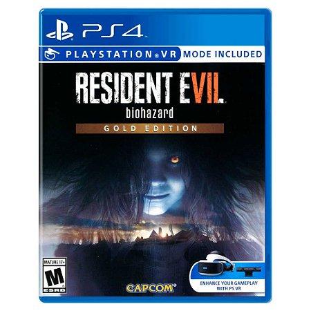 Resident Evil 7: Gold Edition (Usado) - PS4