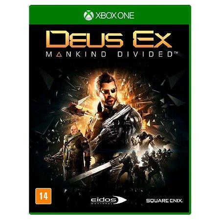 Deus Ex: Mankind Divided (Usado) - Xbox One