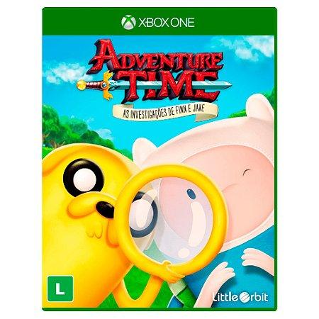 Adventure Time: As Investigações de Finn e Jake (Usado) - Xbox One