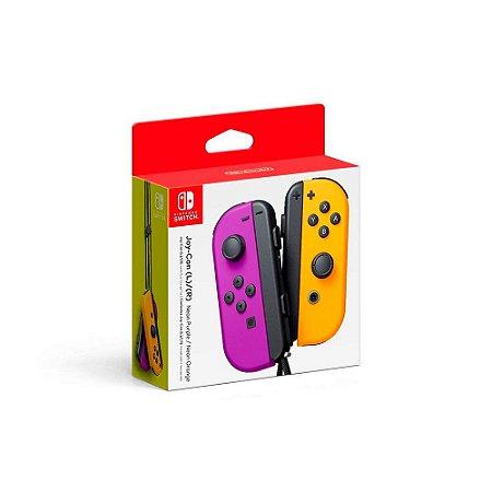 Nintendo Joy-Con (L/R) - Neon Purple/Neon Orange