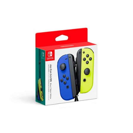 Nintendo Joy-Con (L/R) - Neon Blue/Neon Yellow
