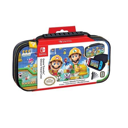 Game Traveler Deluxe Case para Nintendo Switch Lite - Super Mario Maker 2