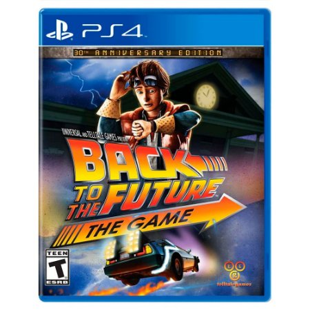 Back to the Future: The Game (Usado) - PS4