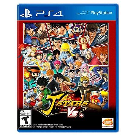J-Stars Victory VS+ (Usado) - PS4