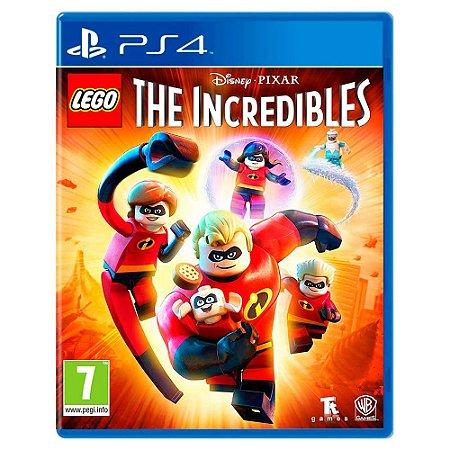 Lego Os Incríveis (Usado) - PS4