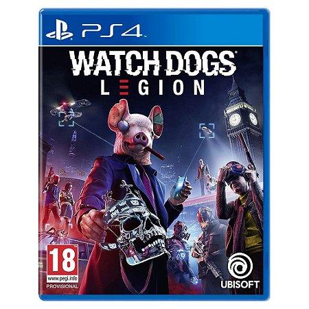Watch Dogs Legion (Usado) - PS4