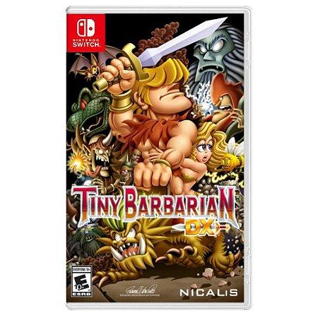 Tiny Barbarian DX (Usado) - Switch