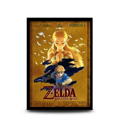 Quadro The Legend of Zelda: Breath of the Wild - 32,5 x 43cm