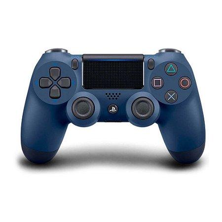 Controle Dualshock 4 - Azul Noturno (Usado) - PS4
