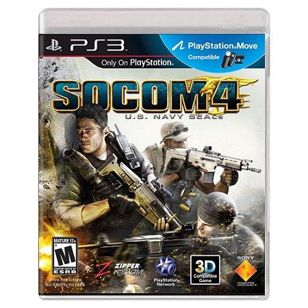 SOCOM 4: U.S. Navy SEALs (Usado) - PS3