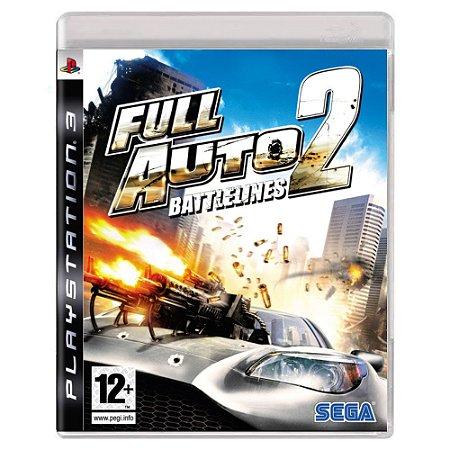 Full Auto 2: Battlelines (Usado) - PS3