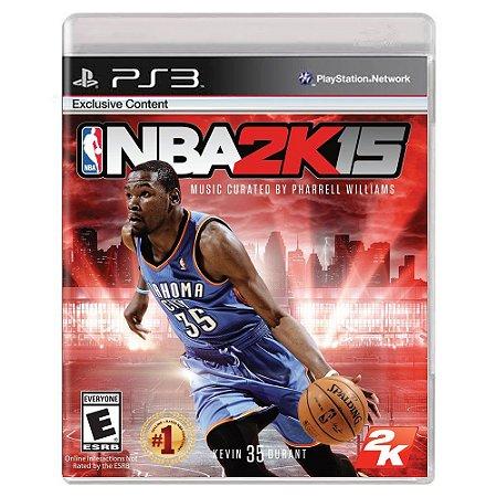 NBA 2K15 (Usado) - PS3
