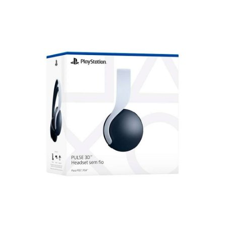 Headset Pulse 3D sem fio Sony - PS5