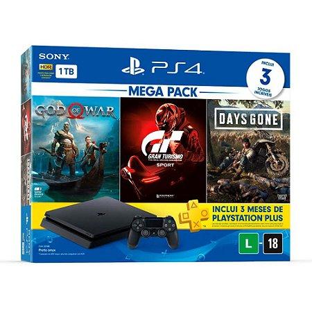 PlayStation 4 Slim 1TB Hits Bundle V12
