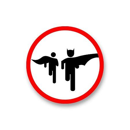 Placa Decorativa #33 Batman Run