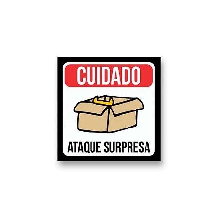 Placa Decorativa #32 Ataque Surpresa