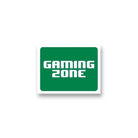 Placa Decorativa #60 Gaming Zone v2