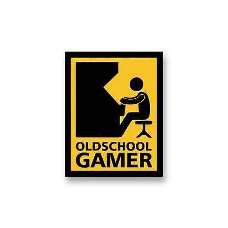 Placa Decorativa #56 Old School Gamer