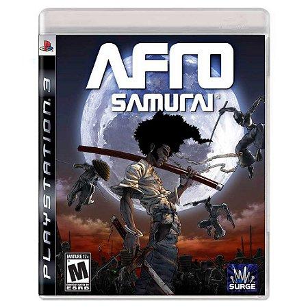 Afro Samurai (Usado) - PS3