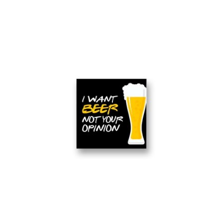 Imã Decorativo #02 - I want beer