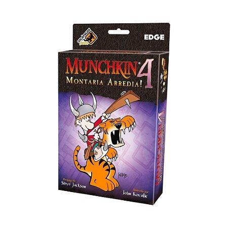 Munchkin 4 - Montaria Arredia!
