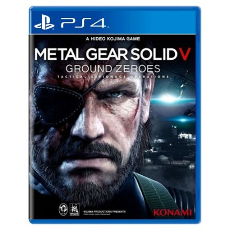 Metal Gear Solid V: Ground Zeroes (Usado) - PS4