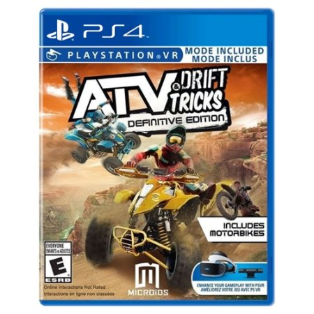 ATV Drift & Tricks Definitive Edition (Usado) - PS4