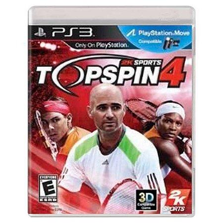 Top Spin 4 (Usado) - PS3