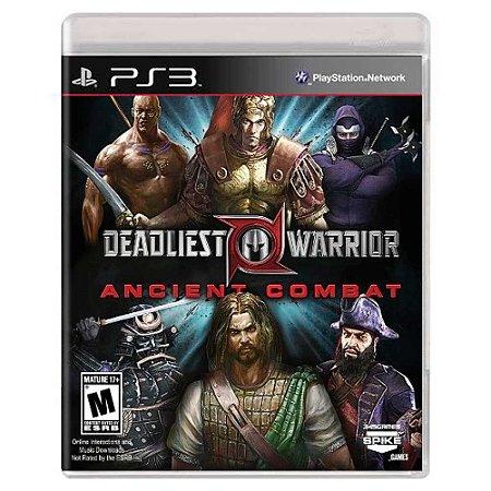 Deadliest Warrior: Ancient Combat (Usado) - PS3