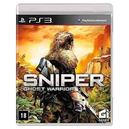 Sniper: Ghost Warrior (Usado) - PS3