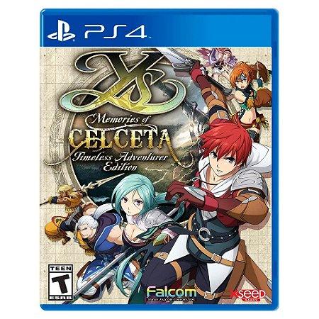 Ys: Memories of Celceta - Timeless Adventurer Edition  - PS4