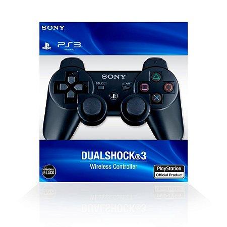 Controle Dualshock 3 - Preto