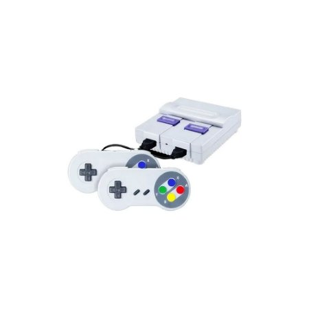 Mini SNES + 4 Mil Jogos com 2 Controles USB SNES