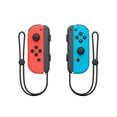 Joy-Con Par Neon Red/Neon Blue (Usado)