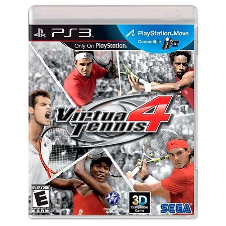 Virtua Tennis 4 (Usado) - PS3