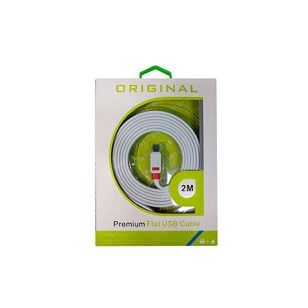 Cabo Carregador USB Tipo-C 2 Metros - PS5, Xbox Series, Switch