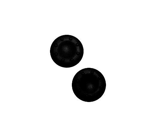 Par de Grip de Silicone para Analógico - Preto - PlayStation, Xbox
