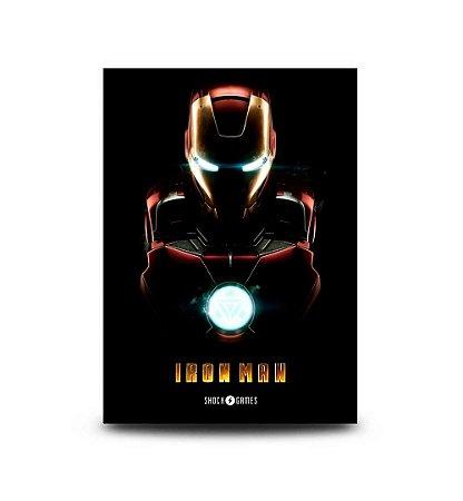 Quadro Iron Man - 32,5 x 43cm